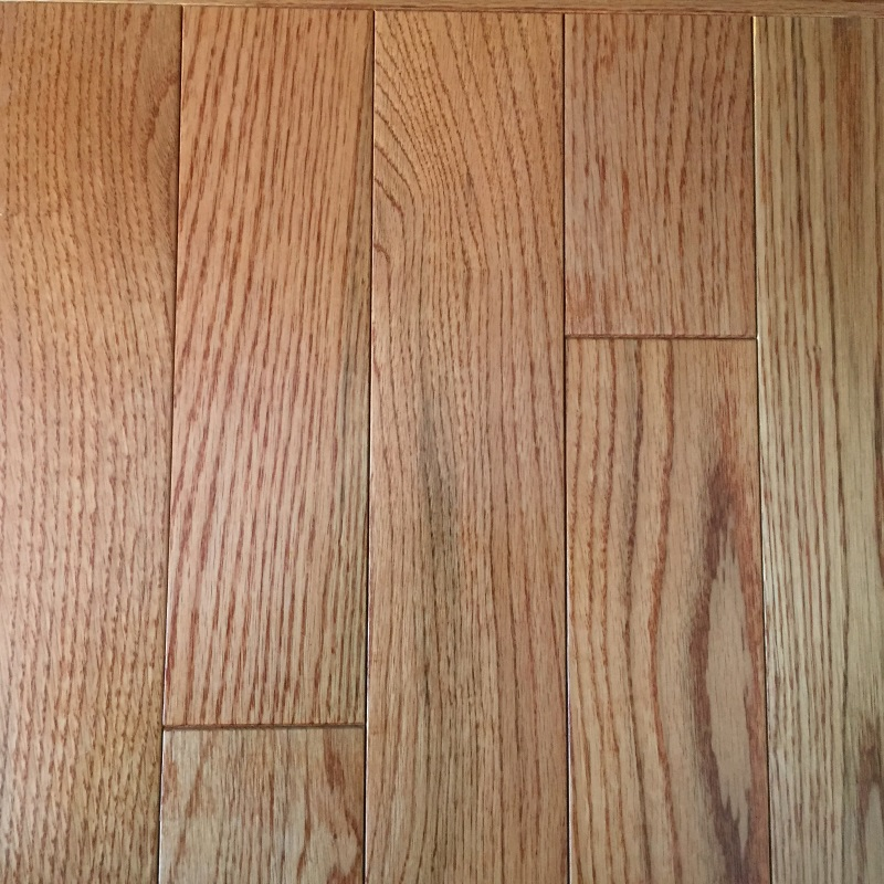 Prefinished hardwood flooring red oak this hardwood floor for Unfinished hardwood flooring vs prefinished